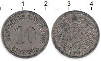 Изображение Дешевые монеты Германия 10 пфеннигов 1907 Медно-никель VF