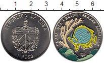 Изображение Мелочь Куба 1 песо 1996 Медно-никель UNC