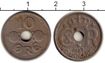 Изображение Монеты Дания 10 эре 1929 Медно-никель VF