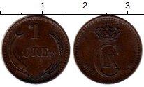 Изображение Монеты Дания 1 эре 1880 Бронза XF