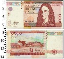 Изображение Банкноты Колумбия 10000 песо 2013  UNC