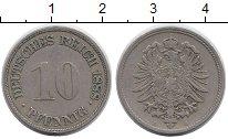Изображение Монеты Германия 10 пфеннигов 1888 Медно-никель XF