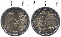 Изображение Монеты Люксембург 2 евро 2017 Биметалл UNC-