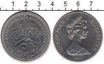Изображение Монеты Великобритания Остров Мэн 1 крона 1981 Медно-никель UNC-