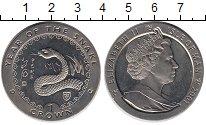 Изображение Монеты Великобритания Остров Мэн 1 крона 2001 Медно-никель UNC-