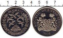 Изображение Мелочь Сьерра-Леоне 1 доллар 2008 Медно-никель UNC-