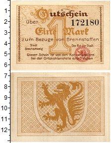 Изображение Банкноты Германия : Нотгельды 1 марка 0  UNC Брауншвейг