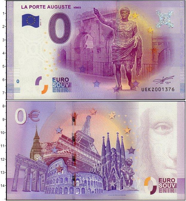 Картинка Банкноты Европа 0 евро  2017