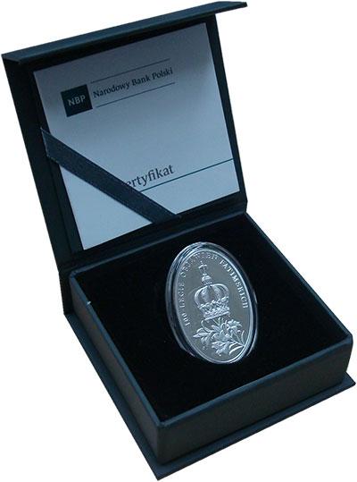 Изображение Подарочные монеты Польша 10 злотых 2017 Серебро Proof 100 лет явления Фати