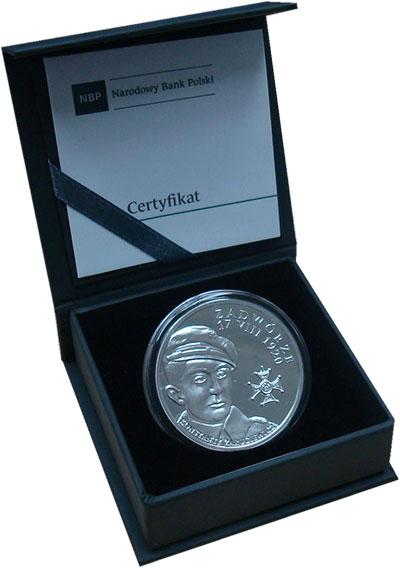 Изображение Подарочные монеты Польша 20 злотых 2017 Серебро Proof Битва под Задружем.