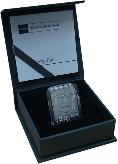 Изображение Подарочные монеты Польша 10 злотых 2016 Серебро Proof 100-летие Востановле