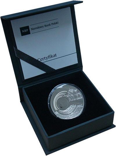 Изображение Подарочные монеты Польша 10 злотых 2016 Серебро Proof 200 лет Университету
