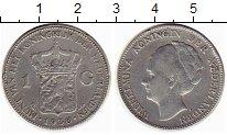 Изображение Монеты Нидерланды 1 гульден 1930 Серебро XF