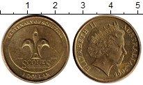 Изображение Монеты Австралия 1 доллар 2008 Латунь XF