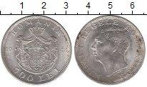 Монета Румыния 500 лей Серебро 1944 XF+ фото