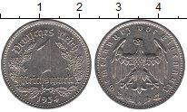 Изображение Монеты Германия Веймарская республика 1 марка 1934 Медно-никель XF