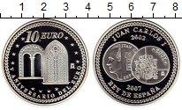 Изображение Монеты Испания 10 евро 2007 Серебро Proof