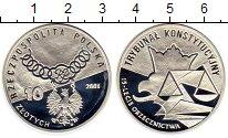 Монета Польша 10 злотых Серебро 2001 Proof фото