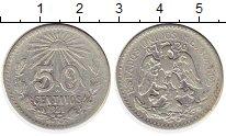 Изображение Монеты Мексика 50 сентаво 1921 Серебро VF