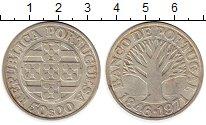 Монета Португалия 50 эскудо Серебро 1971 UNC- фото