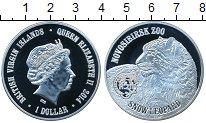 Изображение Мелочь Виргинские острова 1 доллар 2014 Посеребрение Proof