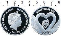 Монета Виргинские острова 1 доллар Посеребрение 2016 Proof фото