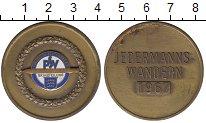 Изображение Монеты ФРГ медаль 1967  XF