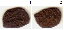 Изображение Монеты Россия 1645-1676 Алексей Михайлович 1 копейка 1663 Медь VF