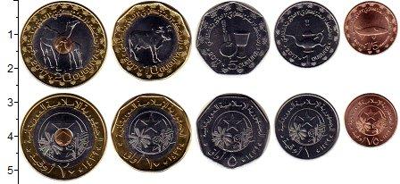 Изображение Наборы монет Мавритания Мавритания 2017 2017  UNC В наборе 5 монет ном