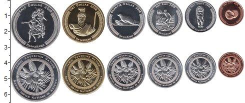 Изображение Наборы монет Резервация Хамул Индейцы Набор 2018 года 2018  UNC В наборе 6 монет ном