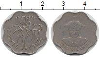 Изображение Монеты Свазиленд 10 центов 1986 Медно-никель XF