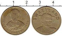 Изображение Монеты Свазиленд 1 лилангени 1996 Латунь XF