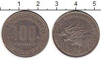 Изображение Монеты Конго 100 франков 1972 Медно-никель XF