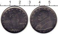 Изображение Монеты Ватикан 100 лир 1962 Сталь XF