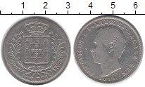 Изображение Монеты Португалия 500 рейс 1875 Серебро VF