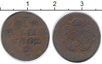 Изображение Монеты Германия Липпе-Детмольд 1 геллер 1802 Медь VF