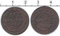 Изображение Монеты Германия Висмар 3 пфеннига 1751 Медь XF-