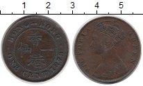Изображение Монеты Китай Гонконг 1 цент 1879 Медь XF