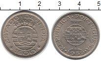 Изображение Монеты Португальская Индия 1 эскудо 1959 Медно-никель UNC-
