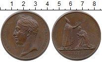 Франция Медаль Бронза 1825 XF фото