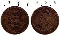 Изображение Монеты Остров Джерси 1/12 шиллинга 1911 Бронза XF