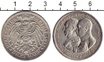 Изображение Монеты Германия Мекленбург-Шверин 3 марки 1915 Серебро XF