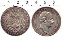 Изображение Монеты Германия Саксония 3 марки 1909 Серебро XF