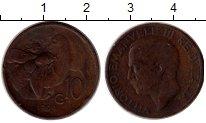 Изображение Монеты Италия 10 сентесим 1929 Медь XF