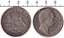 Изображение Монеты Бавария 1 талер 1857 Серебро VF+
