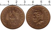 Изображение Монеты Франция Каледония 100 франков 1976 Латунь UNC-