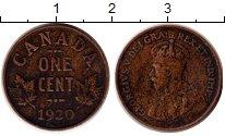 Изображение Монеты Канада 1 цент 1920 Бронза XF-