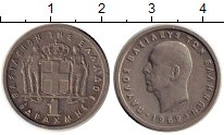Изображение Монеты Греция 1 драхма 1962 Медно-никель XF