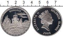 Изображение Монеты Соломоновы острова 25 долларов 2005 Серебро Proof