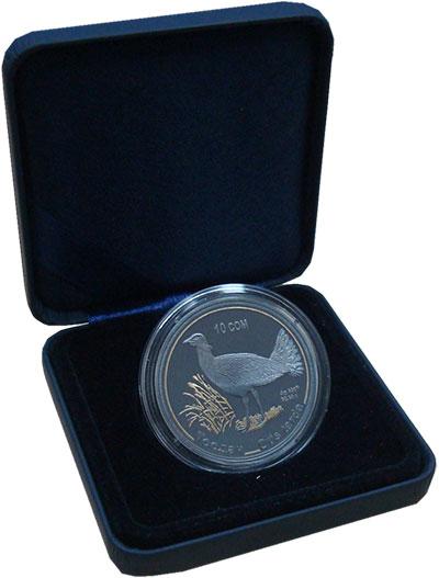 Изображение Монеты Кыргызстан 10 сом 2015 Серебро Proof